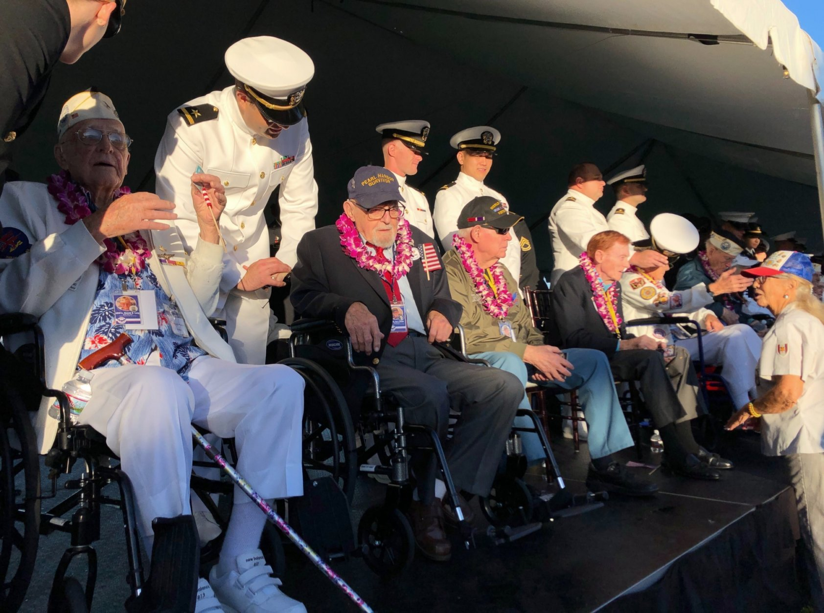 Aging Survivors Return To Pearl Harbor To Recall 41