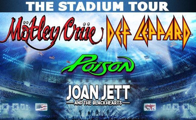 Win Tickets To The Biggest Stadium Tour Of 2020 Motley