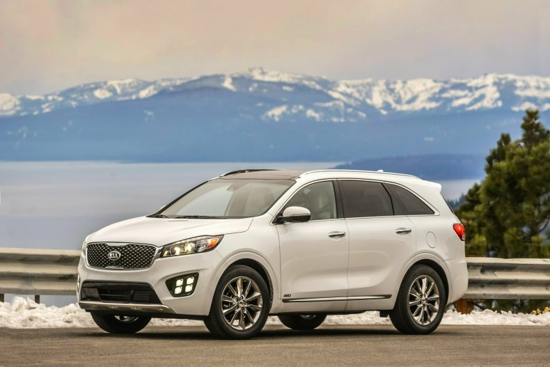 <p><strong>Best used mid-size SUV for teens:</strong> The 2017 Kia Sorento</p>