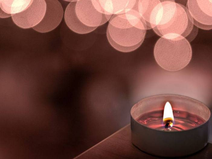 Love candle image for whatsapp dp