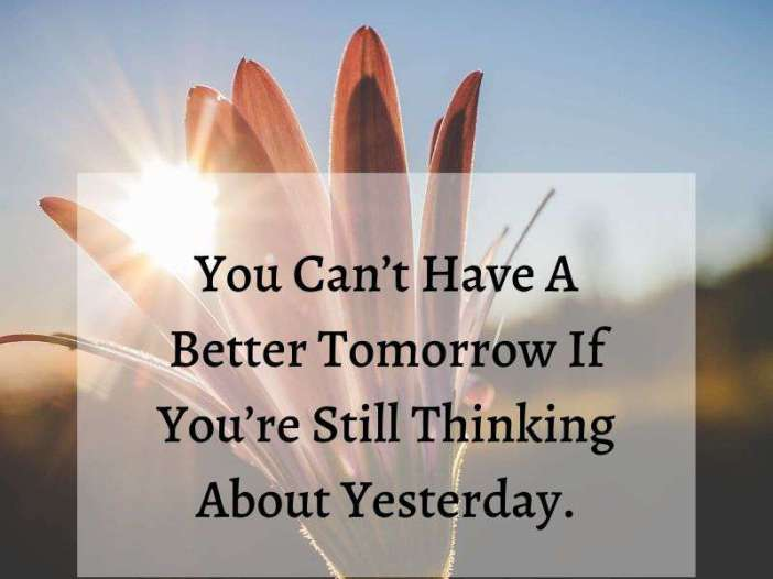 A better tomorrow whatsapp dp image