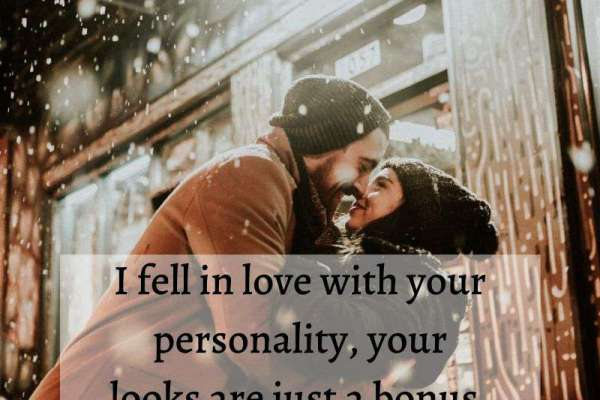 I fell in love with you whatsapp dp image
