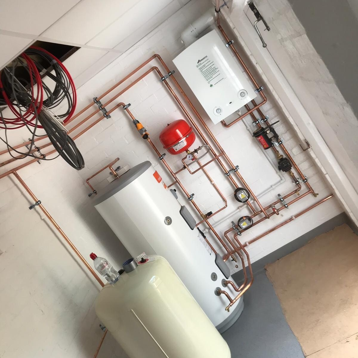 Boiler 7 Cylinder Replacement, Cheam