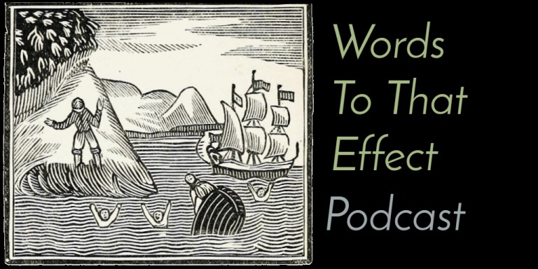Words To That Effect Podcast Ep10 (Robinsonade & Robinson Crusoe)