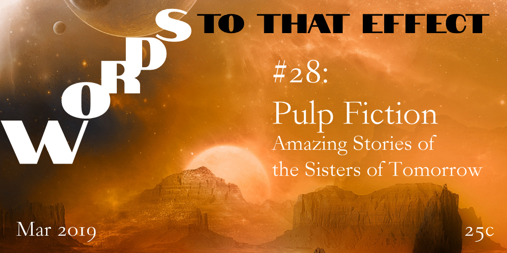 Pulp Fiction Magazines - Words To That Effect Ep28