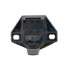 Trailer Connector Industrial Electrical Wiring Diagram Symbols 7 Pin Plug Ke Jack