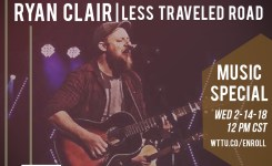 2-14-18 RYAN CLAIR / Brown Bag Wednesday Music Special!