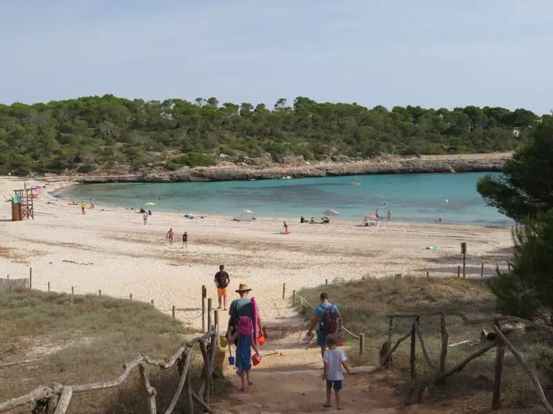 Mallorca tijdens Corona: lege stranden