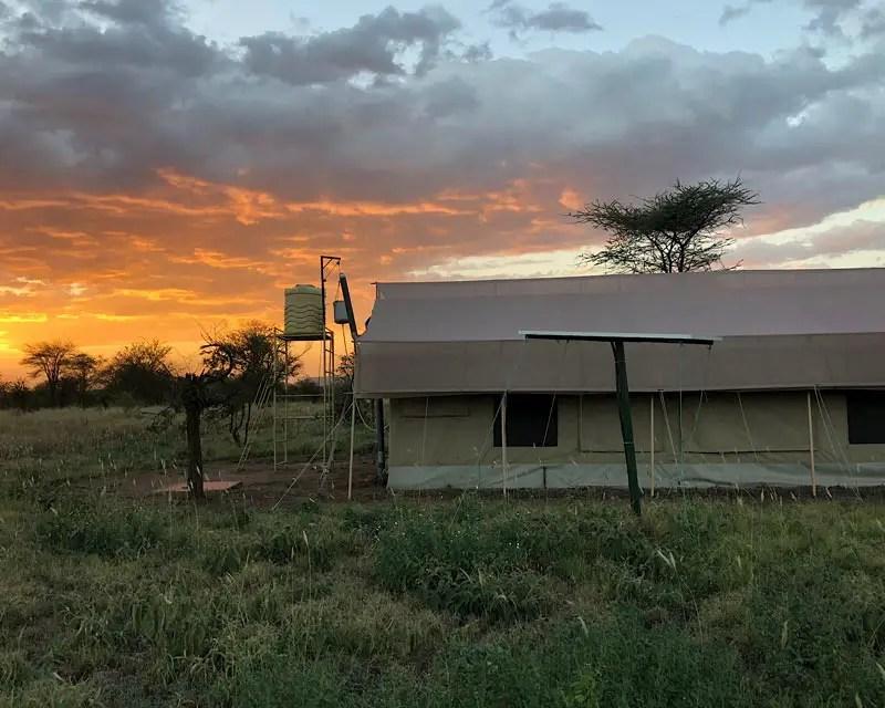Tentlodge in Tanzania