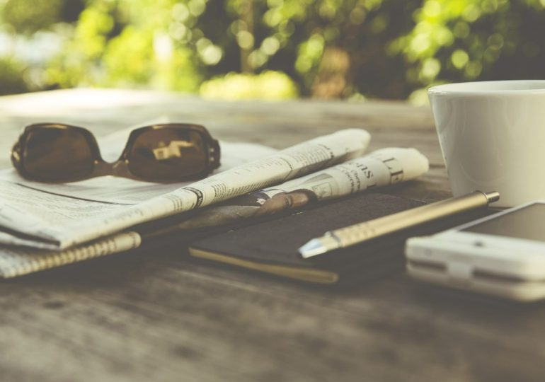 morningcoffee cup and newspaper - WTX News Breaking News, fashion & Culture from around the World - Daily News Briefings -Finance, Business, Politics & Sports