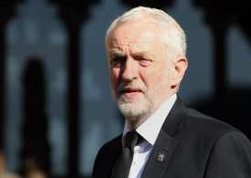 Jeremy Corbyn the Labour Party Leader