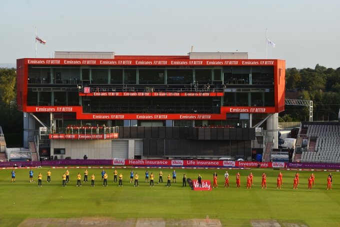 The Emirates Old Trafford in Manchester - The home of Lancashire Cricket club