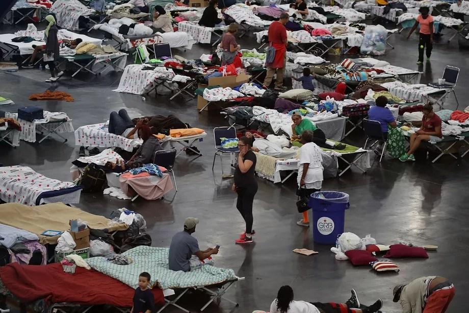 Storm Harvey causing mayhem and havoc in Texas