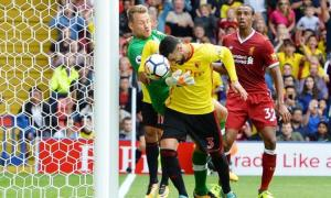 Miguel Britos scored a 93rd-minute equaliser for Watford