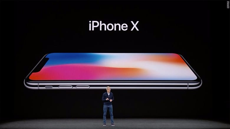 The New Apple iPhone X released yesterday 12th September 2017