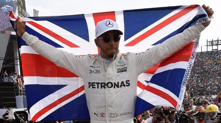 Lewis Hamilton is the 2017 Formula 1 world champion