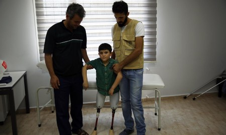Mondays inspirational story comes from the Tragedy of the Syrian war
