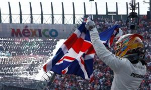 Lewis Hamilton wins his fourth FI title in Mexico 2017