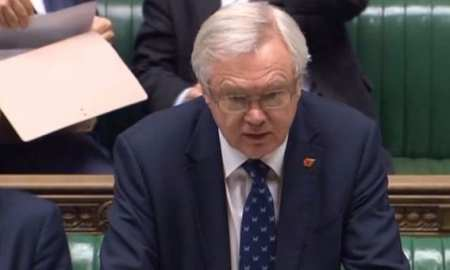 David Davis announces Parliament will get a vote on the Brexit Bill for leaving the EU