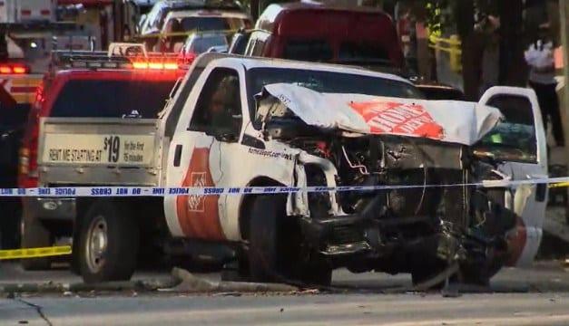 New York Grand Theft Auto style attack kills 8 & injures 11 in Manhattan