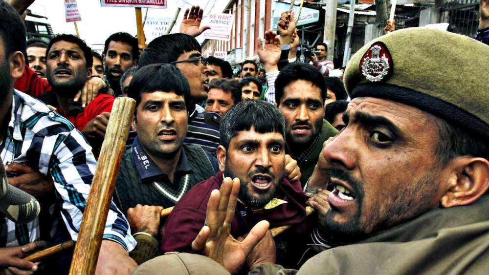 Kashmir the land of conflict and confrontations