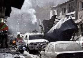Ambulance Bomb 95 killed as ambulance blows up in Kabul