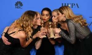 Laura Dern, Nicole Kidman, Zoe Kravitz, Reese Witherspoon, Shailene Woodley - Golden Globes 2018