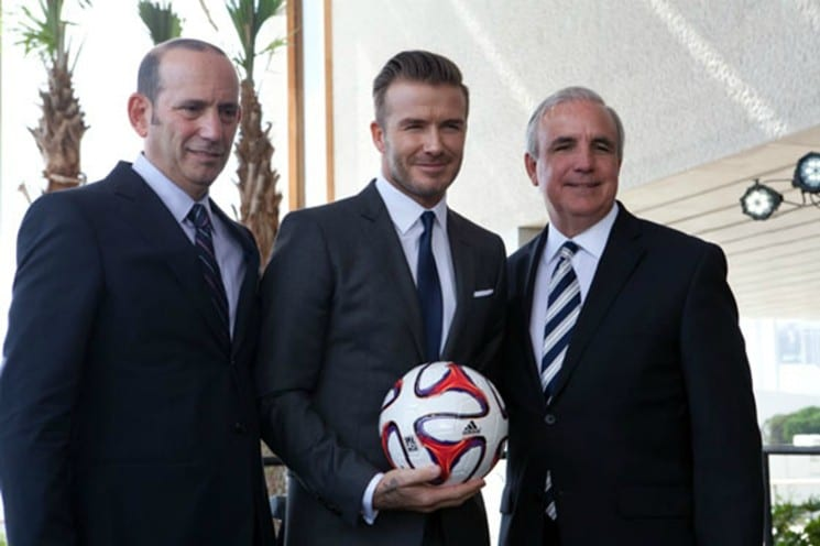 Miami was officially granted an expansion side by MLS commissioner Don Garber at an announcement ceremony on Monday.