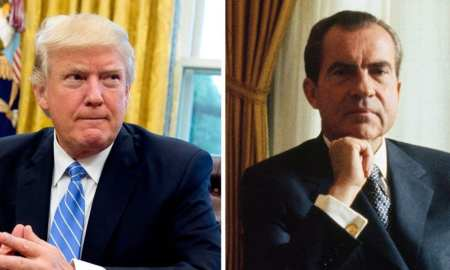 Donald Trump and the President Nixon - two sides of the same coin