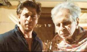 SRK with Dilip Kimar
