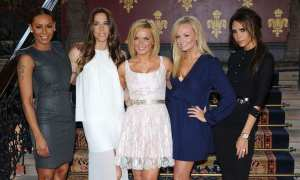 therealgerihalliwell Lovely seeing the girls #girlpower is alive and well
