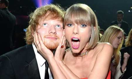 Ed Sheeran met his fiancee at Taylor Swift's - The Mtachmaker house party on the 4th of July
