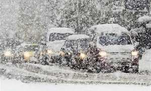 Chaos as Siberian Arctic blast batter the UK