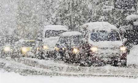 Chaos as Siberian Arctic blast batter the UK