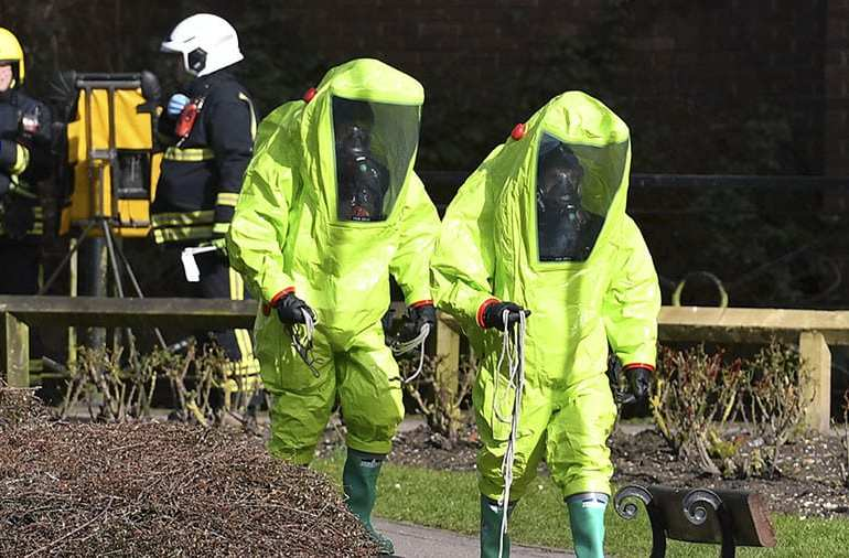 Army Deployed in Salisbury to Prevent Further Nerve Agent Attacks