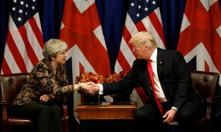 When-President-Trump-met-Prime-Minister-May and now start a new cold war