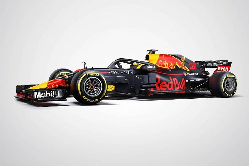 F1 testing 2018: Red Bull reveals its RB14 car's racing livery - F1 - WTX News