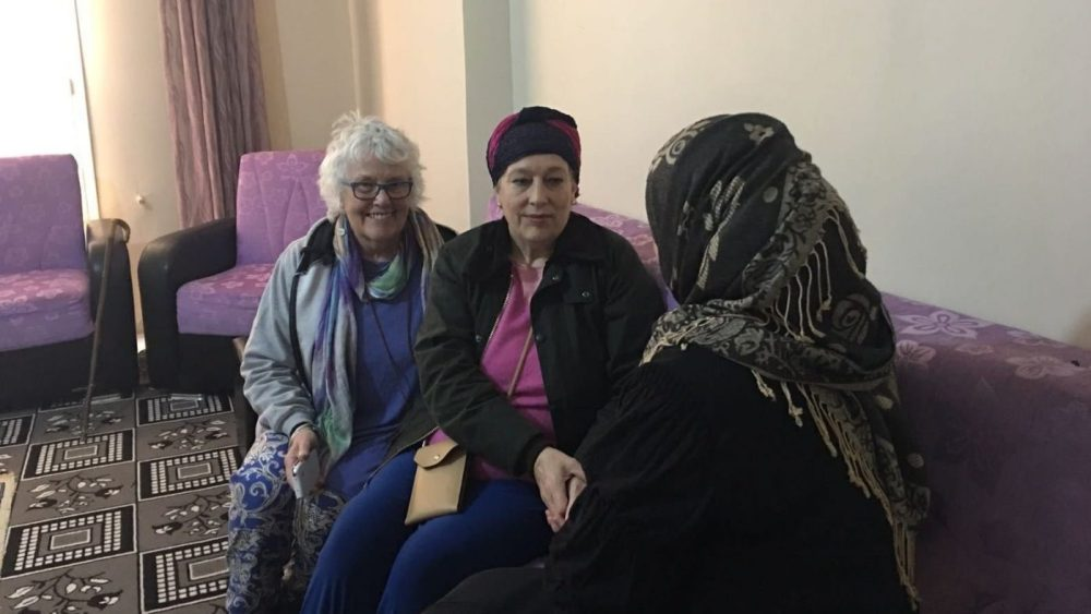 Suffering and frustration among Syrian refugee women, sharing the fear of more torment at the hands of their rapists, if they go back to Syria
