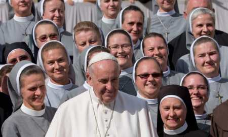 Female exploitation at the Vatican - needs to end now