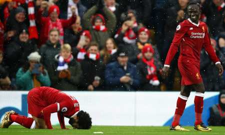 Mo Salah Is going for the golden boot