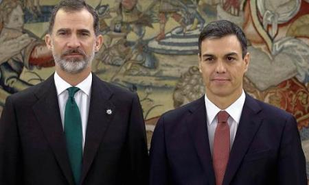 The 46-year-old Sanchez is Spain's seventh prime minister since the return to democracy following the death of dictator Gen. Francisco Franco in 1975.