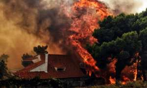 fire in Greece kills at least 80, with many more still missing