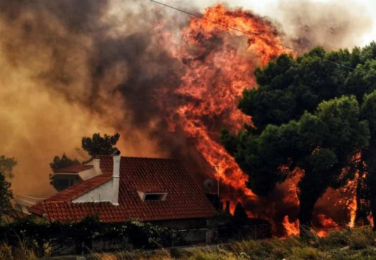 Latest from Greece: fire kills at least 80, with hundreds still missing