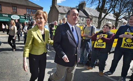 Alex Salmond resigns the SNP 'to clear his name'