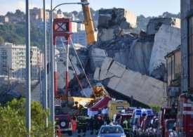 Grief and Anger as Genoa mourns its deceased and demands action against authorities