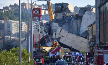 The Morandi Bridge, also known as the Polcevera Viaduct collapsed on Tuesday killing 40 people