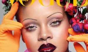 Rihanna on the cover of Vogue magazine 2018