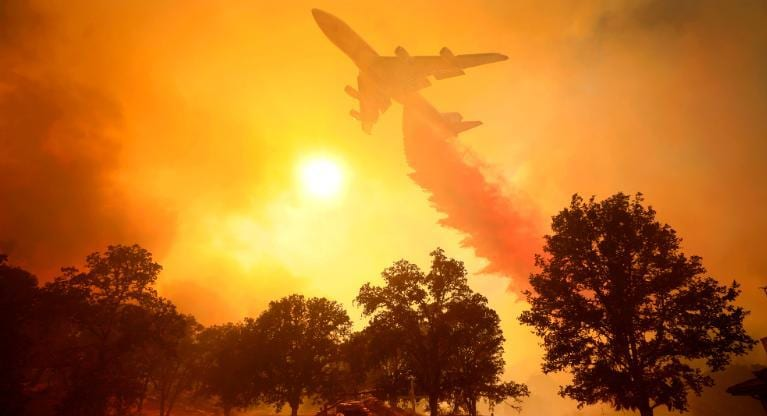 California scorched by raging wildfires the size of Los Angles