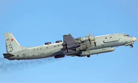 Russian surveillance plane shot down by four fighter Israeli jets over Syria