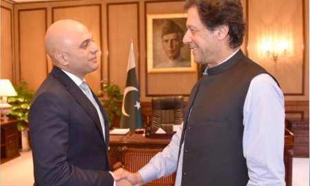 Sajid Javid meets Pakistani PM Imran Khan as anti-terror and illicit finance corruption pact announced
